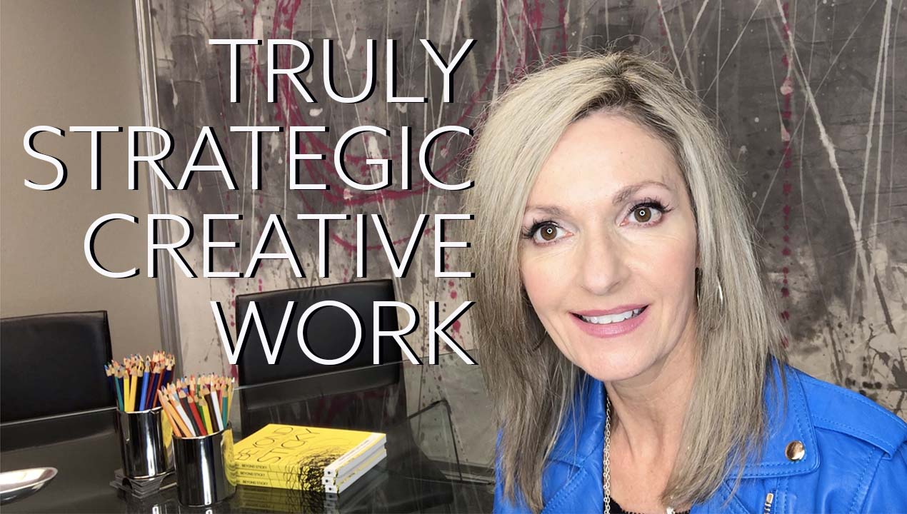 Martha Piland introduction of video on strategic creative marketing for financial brands